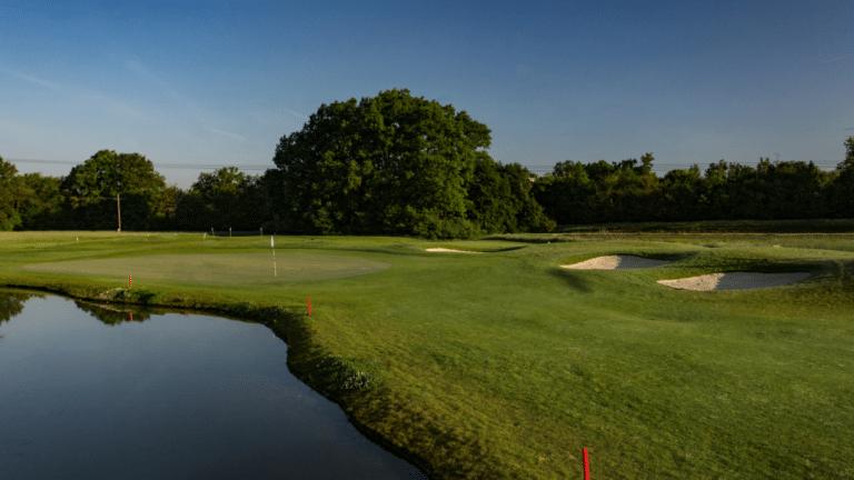 Golfclub Grazer MurAuen Blick auf Grün 7