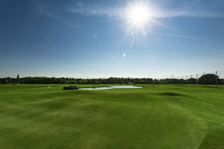 Golfclub Grazer MurAuen Blick auf Bahn 9