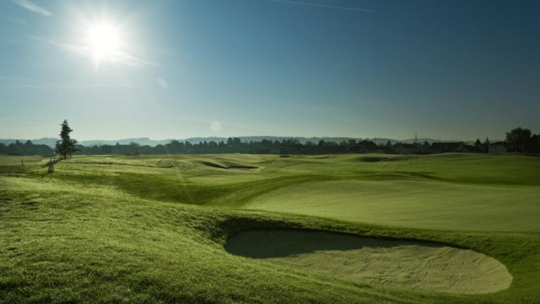 Golfclub Grazer Murauen Blick Grün Loch 5