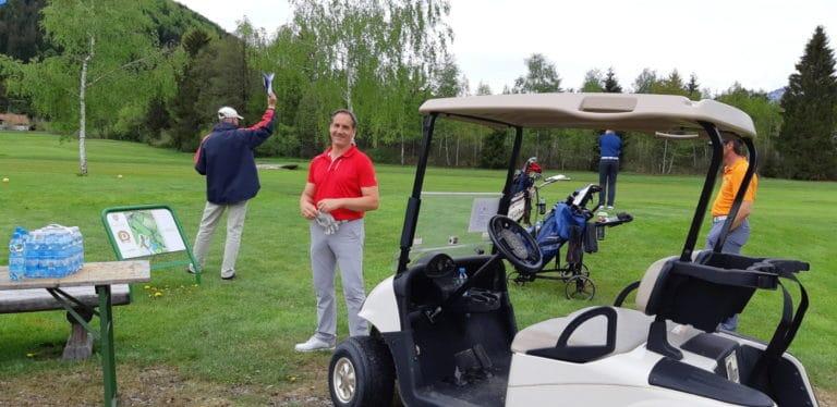 Mannschaft Abschlag GC Liebenau Golf