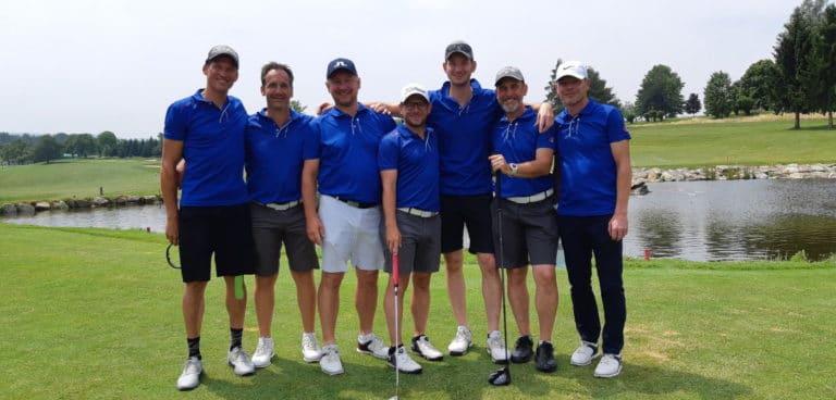 Mannschaft GC Liebenau Teamfoto
