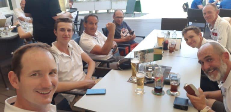 Mannschaft GC Liebenau Team Foto