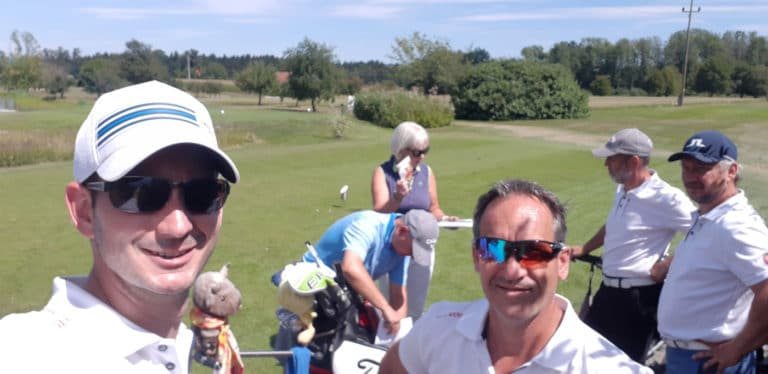 Mannschaft GC Liebenau Selfie