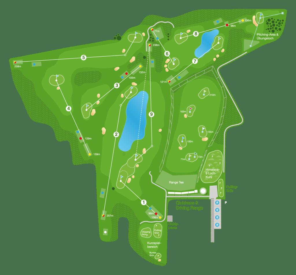 Plan Golfplatz MurAuen