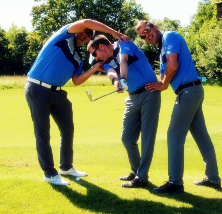 richtiger Golfschwung