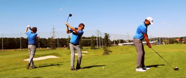 golf professionals abschlag driver
